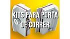 Kits para Porta de Correr Coloridas e Cromada