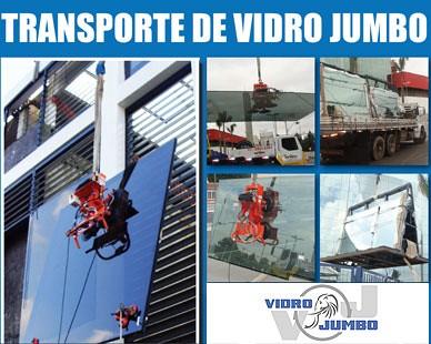 Vidro Jumbo - Transporte e Içamento de Vidros