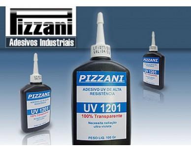 Cola UV Pizzani - Colagem em vidros 100% Transparentes