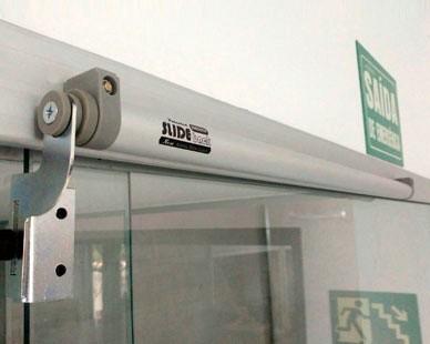 Slide Back Sistema de Fechamento Pneumático para Portas de Correr