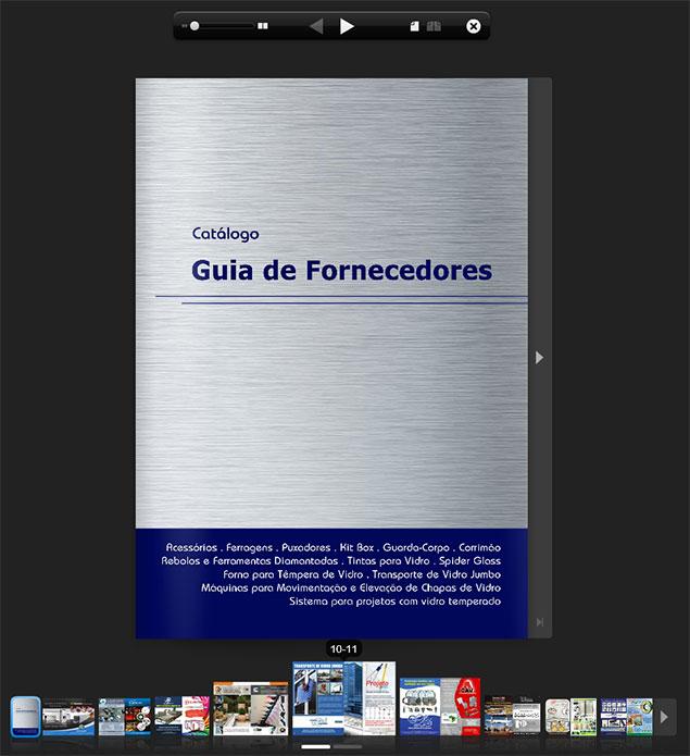 Cat logo digital guia de fornecedores vidro e alum nio - Guia de aluminio ...