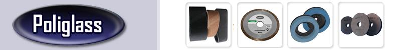 Poliglass - Rebolos para Polimento de Vidros