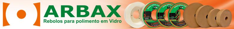 ARBAX - Rebolos para Polimento em Vidro