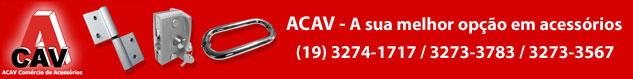ACAV - Ferragens e Acessórios para Vidro e Alumínio